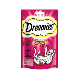 Dreamies Kattensnoepjes - Rund - 60 gram