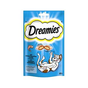 Dreamies Kattensnoepjes - Zalm - 60 gram