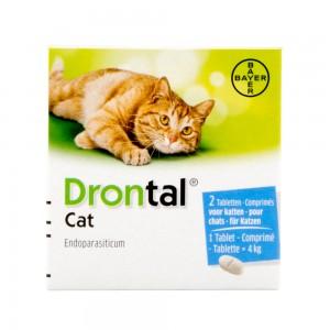 Drontal Cat - 2 tabletten kopen