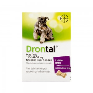 Drontal Dog Tasty 2 tabletten