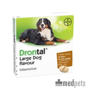 Drontal Large Dog Tasty 8 tabletten