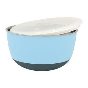 Duvo+ Balance Eetkom met Deksel Blauw 700 ml