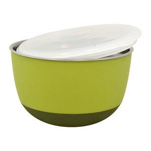 Duvo+ Balance Eetkom met Deksel - Groen - 2300 ml