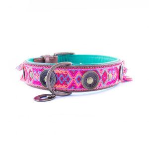 DWAM Halsband Boho Rosa - L (4 cm)