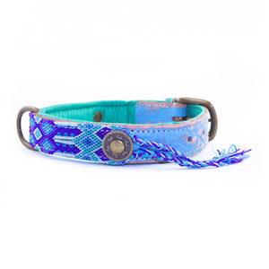 DWAM Halsband Gypsy Blue – XS (2 cm)