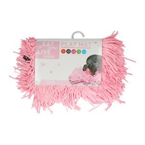 Eat Slow Live Longer Play Mat – Roze