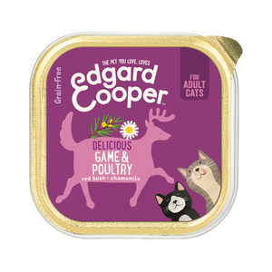 Edgard & Cooper Adult Cat - Gevogelte & Wild - Kuipje - 19 x 85 g