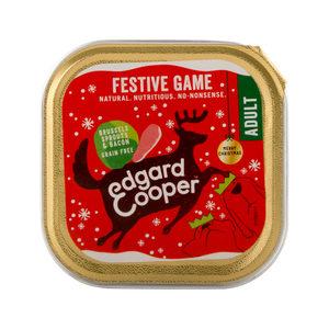 Edgard & Cooper Adult Dog Kerst Kuipje - 1 x 100g