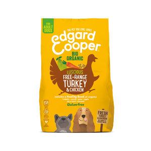 Edgard & Cooper Biologisch Adult – Kalkoen & Kip – 7 kg
