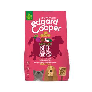 Edgard & Cooper Biologisch Adult – Rund & Kip – 7 kg