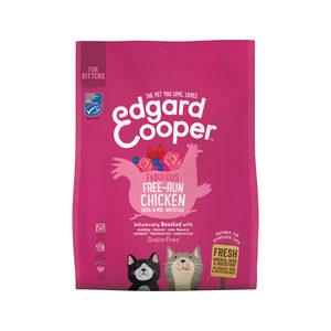 Edgard & Cooper Kitten - Kip, Eend & Witvis - 300 g
