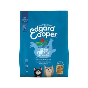Edgard & Cooper Senior Cat – Kip & Witvis – 1,75 kg