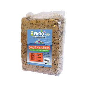 Ekoo Animal Bedding Card & Card Bruin - 30 L