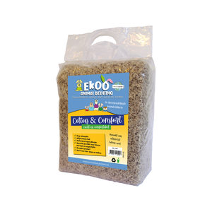 Ekoo Animal Bedding Cotton & Comfort - 40 L