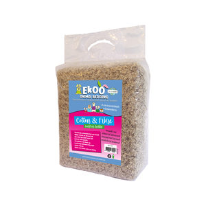 Ekoo Animal Bedding Cotton & Fibre - 40 L