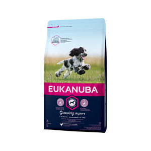 Eukanuba Growing Puppy Medium Breed Kip - Hondenvoer - 1 kg