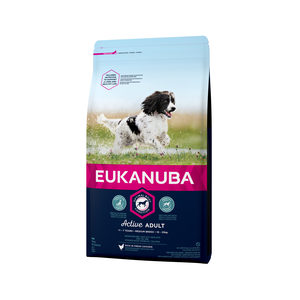 Eukanuba Dog - Active Adult - Medium Breed - 12 kg