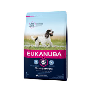 Afbeelding Eukanuba Dog - Thriving Mature - Medium Breed - 3 kg door Medpets.nl