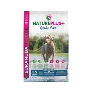 Afbeelding Eukanuba NaturePlus+ Puppy Graanvrij Zalm hondenvoer 2,3 kg door Medpets.nl