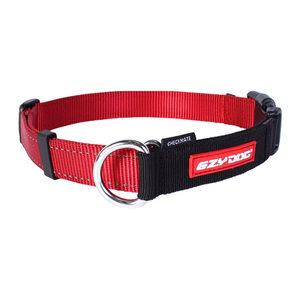 EzyDog Checkmate halsband - XL - Rood kopen