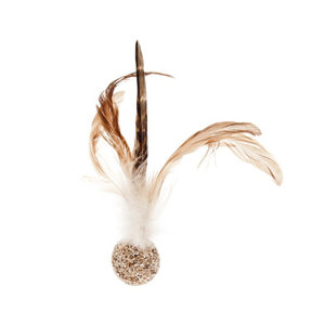 Ferribiella Pheasant Feathers Ball