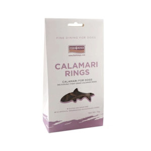 Fish4Dogs Calamari Rings – 75 gram