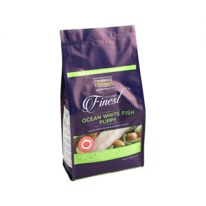 Fish4Dogs Finest Complete Puppy - Ocean White Fish - Large Bite - 1.5 kg