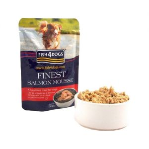 Fish4Dogs Finest Mousse - Salmon - 6x 100 gram
