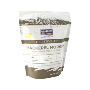Fish4Dogs Mackerel Morsels – Digestive Aid – 225 gram