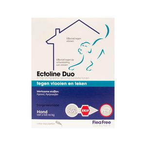 Flea Free Ectoline Duo Hond 2-10 kg – 2 pipetten