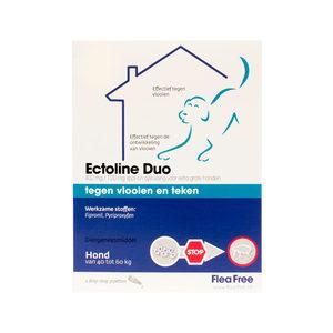 Flea Free Ectoline Duo Hond 40-60 kg – 2 pipetten