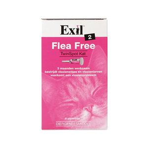 Flea Free Twinspot für Katzen - 2 Pipetten