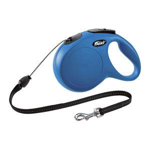 Flexi Rollijn Classic – Cord Leash – M – 5 meter – Blauw