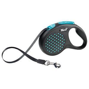 Flexi Rollijn Design - Tape Leash - L - Blauw