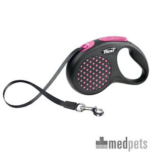 Flexi Rollijn Design – Tape Leash – L – Roze