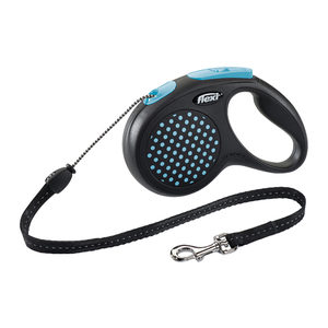 Flexi Rollijn Design - Cord Leash - M - Blauw