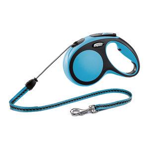 Flexi Rollijn New Comfort – Cord Leash – M (8 m) – Blauw