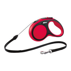 Flexi Rollijn New Comfort - Cord Leash - M (8 m) - Rood