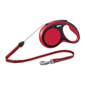 Flexi Rollijn New Comfort – Cord Leash – S (5 m) – Rood