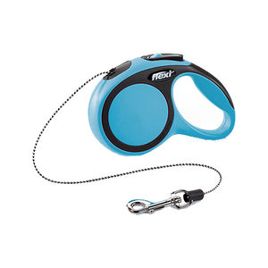 Flexi Rollijn New Comfort – Cord Leash – XS (3 m) – Blauw