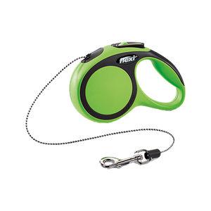 Flexi Rollijn New Comfort – Cord Leash – XS (3 m) – Groen