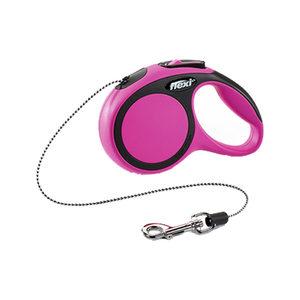 Flexi Rollijn New Comfort – Cord Leash – XS (3 m) – Roze