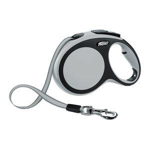 Flexi Rollijn New Comfort - Tape Leash - M (5 m) - Grijs
