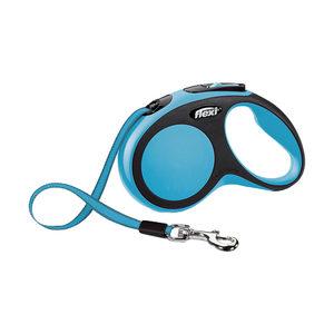 Flexi Rollijn New Comfort - Tape Leash - S (5 m) - Blauw