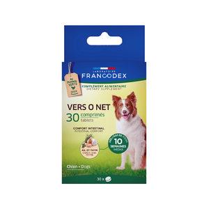 Francodex Vers O Net Tabletten Hond - 30 stuks