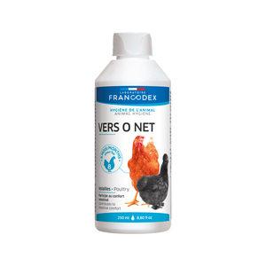 Francodex Vers O Net voor Pluimvee - 250 ml