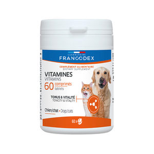 Francodex Vitamine Tabletten - 60 stuks