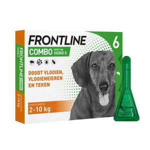 Afbeelding Frontline Combo Spot-On Hond S 6 pipetten door Medpets.nl