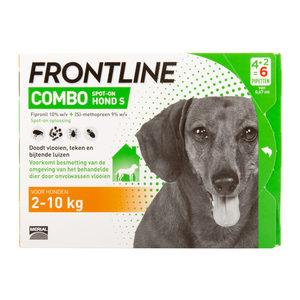Frontline Combo Hond S (2-10 kg) – 4 + 2 pipetten