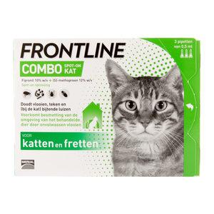 Frontline Combo Kat – 3 pipetten